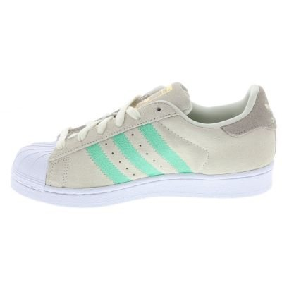 adidas Superstar, Sneakers Basses Femme Beige (Off White/light Brown/hi-res Green S18)