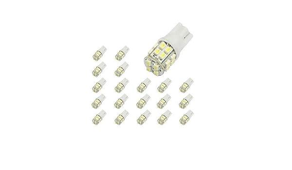 GD 10 x T10 20-SMD 1210 White LED Car Lights Bulb 194: Amazon co uk