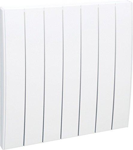 Airelec AIRA692793 Radiateur inertie sèche en fonte fever horizontal 1000 W Blanc