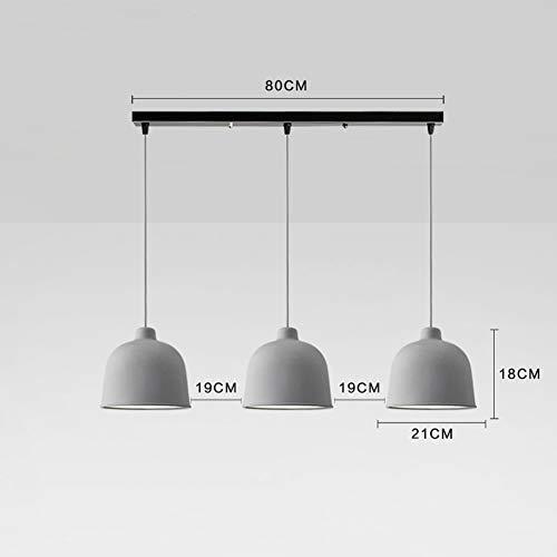 DEE Kronleuchter-Kreative Persönlichkeit Wohnzimmer Beleuchtung Nordic Deckenleuchte, Restaurant Kronleuchter, Tischleuchten DREI Köpfe Modernes Café Esszimmer Küche Lampen Home Dining Light,# 5 - Fünf Light Kronleuchter Lampe