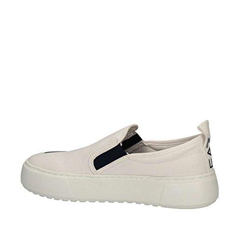 Emporio Armani EA7 slip on donna nuove sneakers originali master bianco White