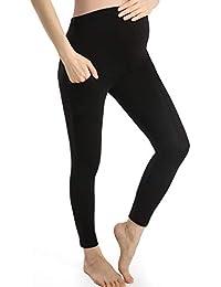 eb08f4bc95054 Pregnancy Pants Women Full Length Maternity Leggings Over Bump Pregnant  Trousers