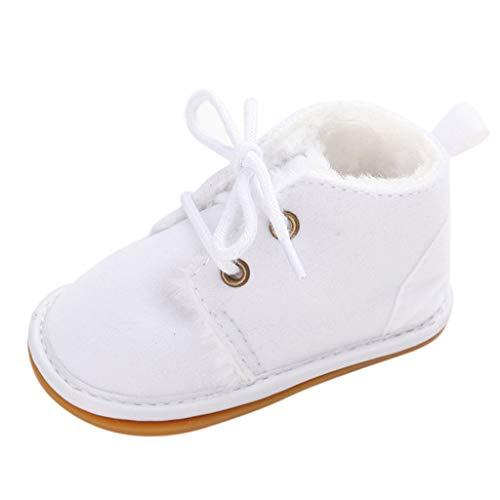 Kostüm Illusion Baby - Baby Winter Warme Stiefel Unisex-Baby Plus Samt Stiefeletten Bequem rutschfest Babyschuhe Kleinkindschuhe Erste Wanderer Weiche Sohle Schuhe Turnschuhe