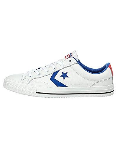 CONVERSE Sp Ev Cuir Ox 066740-520-12 Damen Sneaker Bianco (bianco)