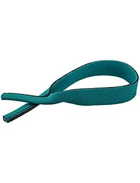 Banda elástica para gafas, tamaño aprox. de 38 cm, varios colores (verde)