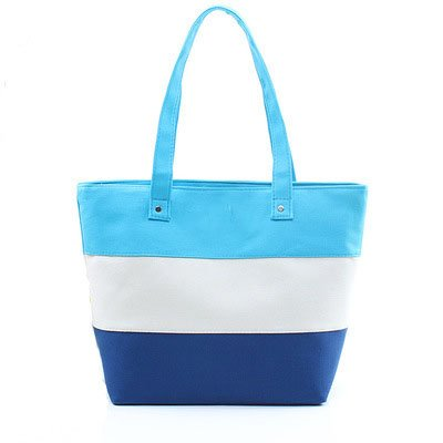 GZ Striped Canvas Handbags Bag Shoulder Bag Casual for sale  Delivered anywhere in Ireland