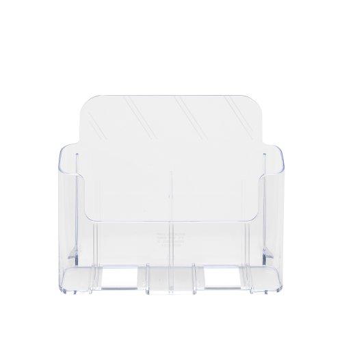 Deflect-o 74001 - Expositor de sobremesa (A4), transparente