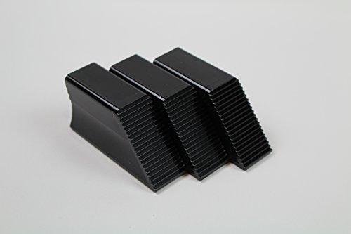 r 3-er Set Auto Gepäck Fixierung Sicherung Ladung Kofferraum Teiler Ordnungshilfe aus D. Clever sichern auf Teppich (Schwarz) ()