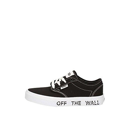 Vans Atwood, Sneaker Unisex – bambini Nero (Printed Fox)