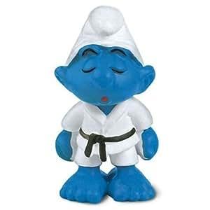 Schleich - 20134 - Figurine - Schtroumpf Judoka