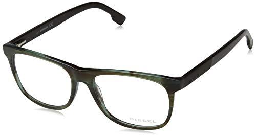 Diesel Unisex-Erwachsene Brillengestelle Dl5213 Grün (Verde CHIARO), 54