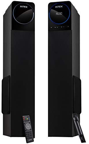 Intex IT- 12001 SUFB 2.0 Channel Tower Speakers