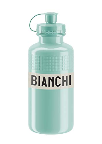 Bianchi - borraccia mod. vintage 2019 colore celeste bianchi, capacità 500 ml. cod. c9010130
