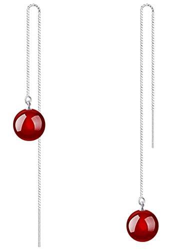 joyfulshine-women-925-sterling-silver-long-linear-tassel-agate-staple-threader-earrings