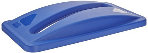 rubbermaid-fg270388-blue-slim-jim-paper-recycling-top-by-rubbermaid-commercial