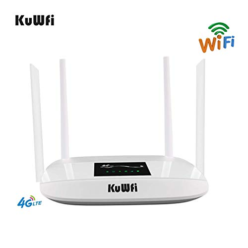 KuWFi 300Mbps 4G LTE WiFi Router