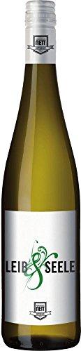 Leib & Seele Cuvée feinherb 2016 - Bergdolt-Reif & Nett | feinherber Weißwein | deutscher Wein aus der Pfalz | 1 x 0,75 Liter