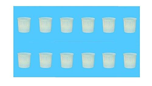 IRPot presenta: 50 x forme mini per formaggio ricotta In materiale plastico atossico per alimenti, indicato per il contatto, la conservazione e la maturazione di formaggi e ricotta, ideale per ristoranti, alberghi e caseifici. misure: 5 X 4,5 X 5 cm ...