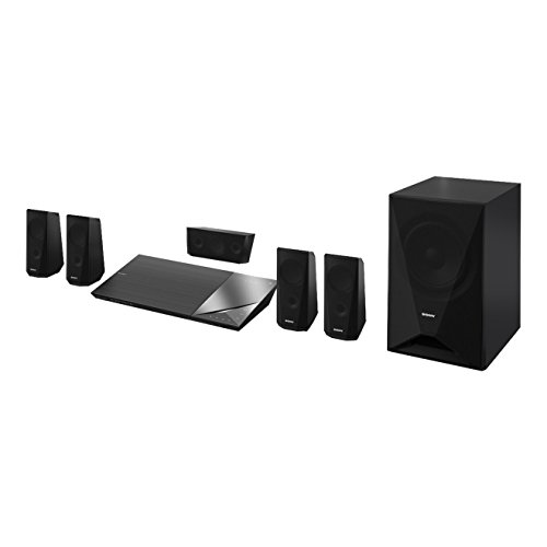 Sony BDV-N5200W 5.1 Channel Home Cinema System with S-Master Digital Amplifier (Blue-Ray, 3D, Clear Audio Plus, DLNA, Wi-Fi and NFC) - Black