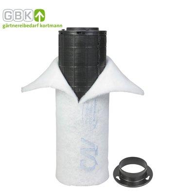 CAN Lite Aktivkohlefilter 300m³/h Klima Filter AKF Geruchsfilter (Hanf-gebäude)