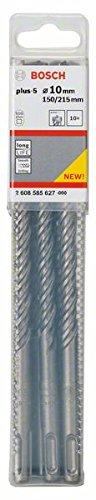 BOSCH 2 608 585 627  - BROCAS PARA MARTILLOS PERFORADORES SDS-PLUS-5 - 10 X 150 X 215 MM (PACK DE 10)
