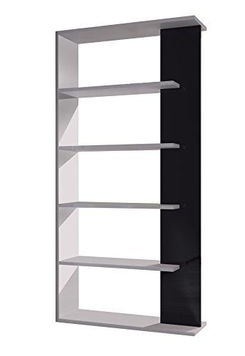 13casa - kafka a2 - libreria. dim: 90x25x180 h cm. col: bianco. mat: melamina.