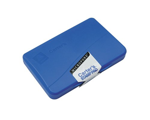Preisvergleich Produktbild Micropore Stamp Pad,  4 1 / 4 x 2 3 / 4,  Blue