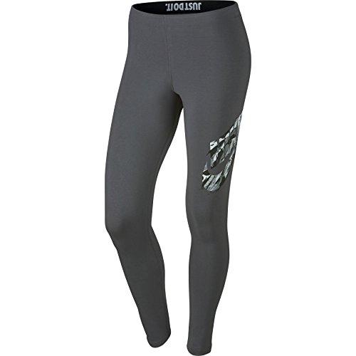 Nike W NSW RCK Garden GX Collant, femme Gris (Dark Grey)