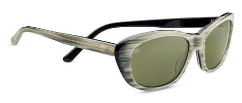 Serengeti Eyewear Sonnenbrille Bagheria, Creme Stripe Black Lam, M, 7788