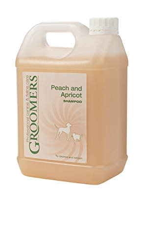 Groomers Pêche et Abricot Shampoing, 2.5Litre
