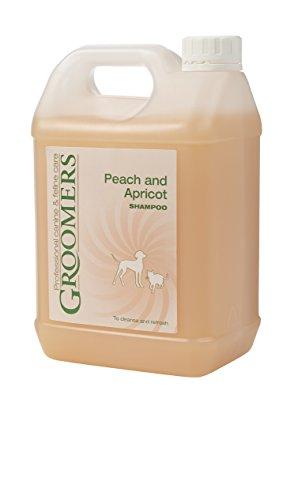 Groomers Peach y Albaricoque Perro champú, 2,5L