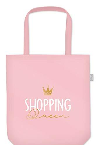 G.W. Tasche Einkaufstasche Einkaufsbeutel mit Sprüchen Verschiedene Motive zur Auswahl Geschenkidee Geschenk Geburtstag Ostern Weihnachten (Shopping Queen)