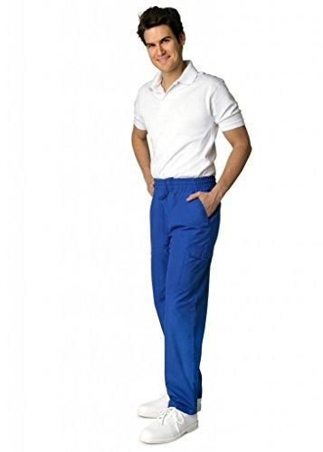 Adar Uniforms Medizinische Schrubb-hosen - Damen-Krankenhaus-Uniformhose 506 Color RYL | Talla: S - 6