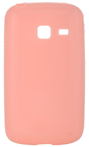 iCandy™ Colourful Thin Matte Finish Soft TPU Back Cover For Samsung Galaxy Y Duos S6102 - Orange  available at amazon for Rs.160