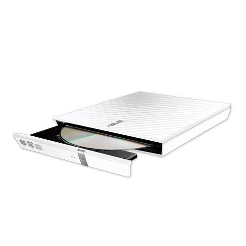 ASUS SDRW-08D2S-U LITE - Grabadora externa de DVD 8X, compatible con Mac, compatible con M-DISC, encriptación de disco, almacenamiento web ilimitado (12 meses), NERO Backitup, E-Green, E-Media