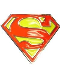 e63e989151c2 Buckles Diffusion - Boucle De Ceinture Superman - Couleur   Rouge - Couleur    Jaune
