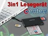SIM SMART Card-Reader & M2/ microSD/MS Pro - SDHC/SDXC PC/SC 2.0