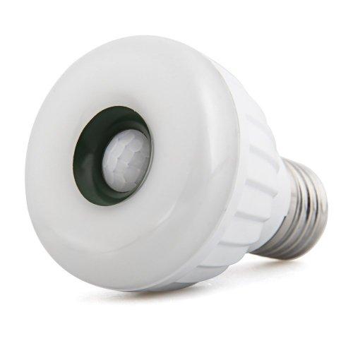 E27 25 3528 SMD LED Bewegungsmelder Licht Lampe Strahler Warmweiß 5W AC 220-240V -
