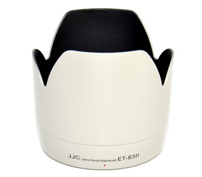 eFonto/JJC LH-83II professionale di ricambio ET-83II paraluce per Canon EF 70-200mm f/2.8L USM Bianc