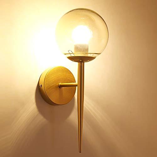 Moderne Schlafzimmerwand Lampe minimalistischen Licht Solid Wood Living Room Aisle Light Fixture Band Zipper Switch,Gold