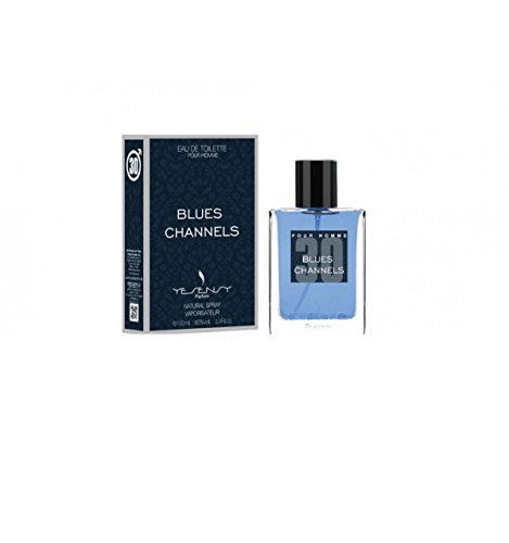 Blues channels – Perfume Hombre genérico/inspirado por el prestigieux azul de Chanel/EDT 100 ml – Licences Discount