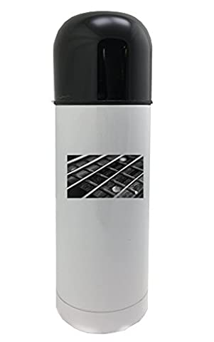 String, Bass, Guitar, Music, Rock, Sound white thermos