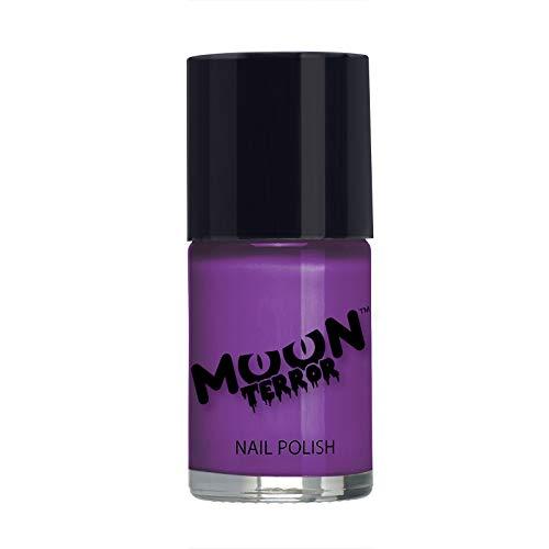 Moon Terror - Smalto per unghie di Halloween - 14ml - Per unghie spaventose. Perfetti per vampiri, fantasmi, scheletri, streghe, zucche, mostri, ecc - Viola Pozione