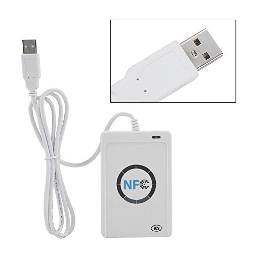 Cosiki RFID Reader Writer, 5 V DC ACR122U Berührungsloser RFID Smart Reader & Writer/USB IC-Karte
