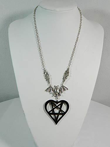Halskette Fledermaus Modeschmuck Gothic Punk Rockabilly Bat Necklace