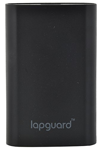 Lapguard LG301 Power Bank 10000mAh Make In India portable charger Powerbank -Black  available at amazon for Rs.499