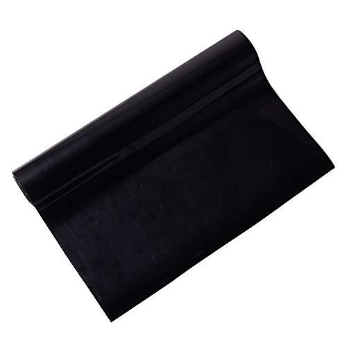 nbeads 1 Rolle Wärmeübertragung Vinyl HTV Bügeln auf Vinyl Pack für Silhouette Cameo, Cricut oder Verwendung mit Heißpresse Maschine Werkzeug Blcak (T-shirt Vinyl-cutter-maschine)