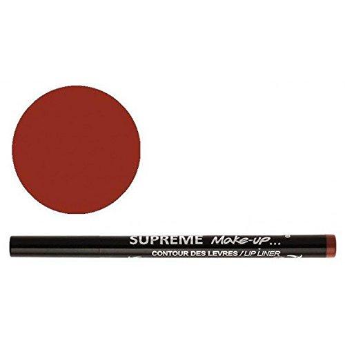 Supreme Make Up Feutre Semi-Permanent Effet Tatouage Contour des Lèvres Brun Clair 1ml