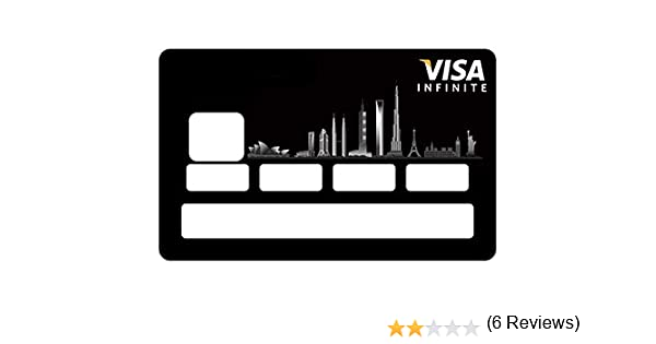 Sticker Carte Bleue Infinite.Stickers Cb Carte Bleue Infinite Pour Carte Bancaire