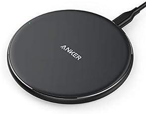 Anker Wireless Charger PowerPort Wireless 5 Pad, Qi Induktive Ladestation für iPhone X / 8 / 8 Plus, Galaxy S9/ S8 / S8 Plus / S9 / Note 8,Nexus, HTC, LG und alle anderen Qi-fähigen Geräte